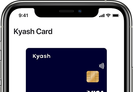 Kyash app for iPhone